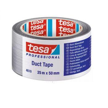 Tesa Duct Tape, 25m x 50mm, Grey