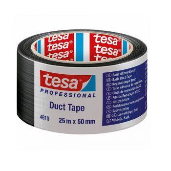 Tesa Duct Tape, 25m x 50mm, Black