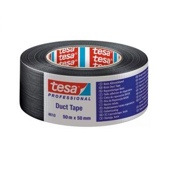 Tesa Duct Tape, 50m x 50mm, Black