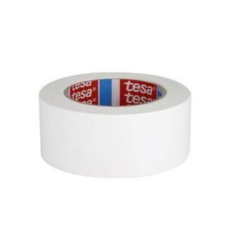 Tesa Standard Polyethylene Coated Cloth tape, 25m x 50mm, White