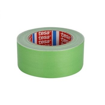 Tesa Standard Polyethylene Coated Cloth tape, 25m x 50mm, Green