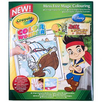 Crayola - Color wonder (Disney Never and Pirates)