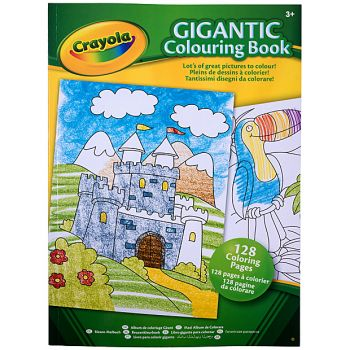 Crayola - Gigantic Colouring Book (128 Colouring Pages)