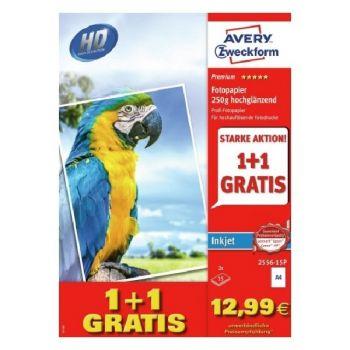 Avery Premium Inkjet Photopaper, A4, 30 Sheets Per Pack