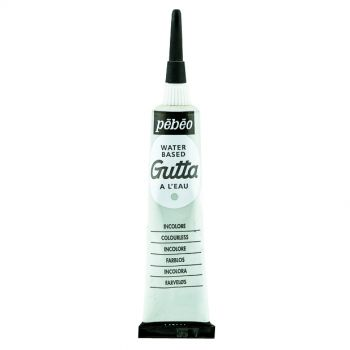 Pebeo Gutta Water Based Incolore(Transparent) color for Fabric Painting 20 ml