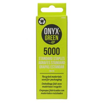 Onyx & Green 26/6 Staple Pins 5000 Pack (4900)