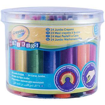 Crayola - JUMBO CRAYONS 24 MAXI
