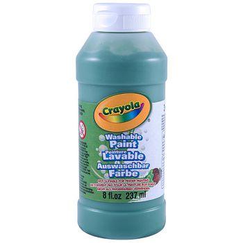Crayola - Washable Paint 237ml (Green)