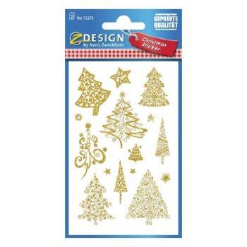 Avery Christmas Tree Stickers, 30 Sticker Per 2 Page