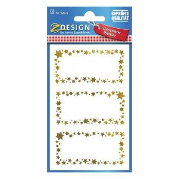Avery Christmas Stickers, Gift Label, 6 Sticker Per 2 Page