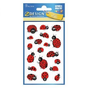 Avery Motivation Stickers, Ladybug, 38 Sticker Per 2 Page