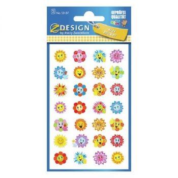 Avery Motivation Stickers, Flower, 56 Sticker Per 2 Page