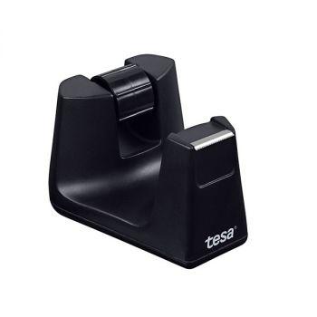 Tesa Easy Cut Desk Dispenser Smart, Empty for rolls up to 33m long, Black