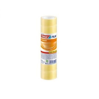 Tesa film Tape, 10m x 19mm (Pack of 8Rolls)