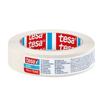 Tesa Basic Masking Tape, 50mx19mm