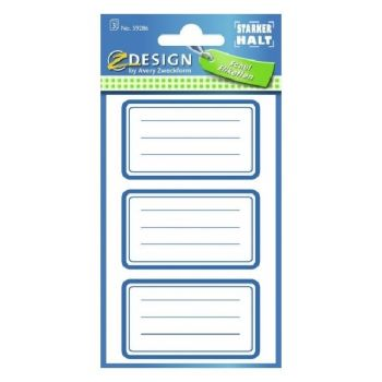 Avery Book Labels Frames, 9 Labels Per 3 Pages