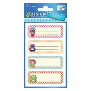 Avery Household Labels, 8 Labels Per 2 Pages