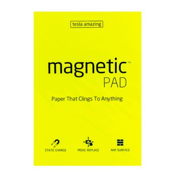 Tesla Amazing - Magnetic Pad - 50 Pages (A4) Yellow,10330