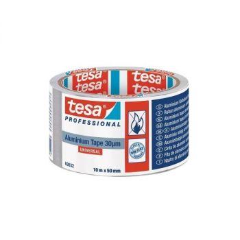 Tesa Universal aluminum Tape, 10mx50mm, Sliver