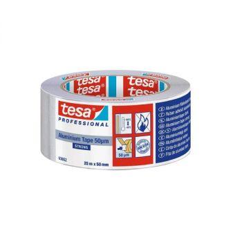 Tesa Universal aluminum Tape, 25mx50mm, Sliver