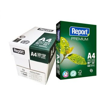 Report A4 Printer Paper, Pack of 2500 Sheet