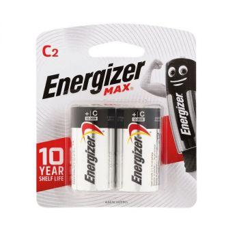 Energizer Max C Alkaline Batteries - Pack of 2
