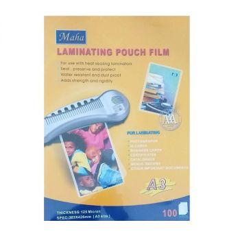 Maha A3 Laminating Pouch , 100 Sheets
