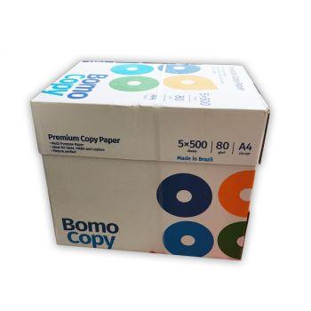 Bomo A4 Paper , 80 GSM , 5 X 500 Sheets