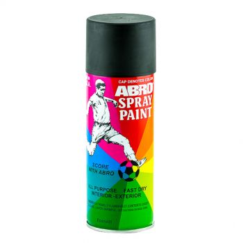 ABRD Spray Paint Black Color For All Purpose Fast Dry