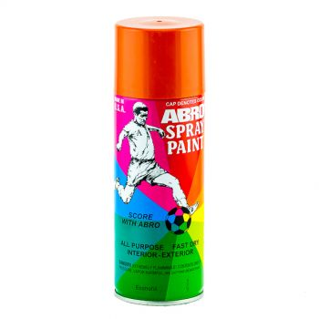 ABRD Spray Paint Orange Color For All Purpose Fast Dry