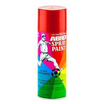 ABRD Spray Paint Red Color For All Purpose Fast Dry