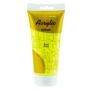 Artmate Acrylic Colour  Bright Yellow 200ml