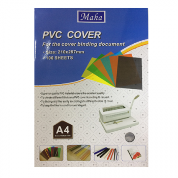 Binding Document cover A4 100 Sheets Transparent