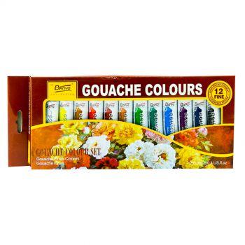 Biyano Gouache Fines Colours 12 Set