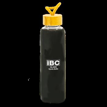 IBC Glass Bottle With Handle 550 ML, Black, IBC-GBH-550
