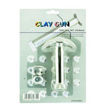 Clay Gun Tery Tool Set (19 discs)