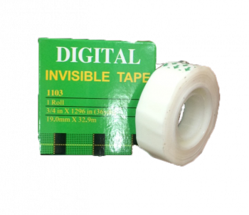 Digital Transparent White Tape