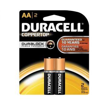 Duracell Batteries / 2 AA