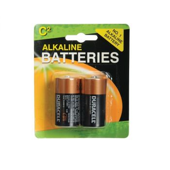 Duracell C-Cell Batteries Pack of 2