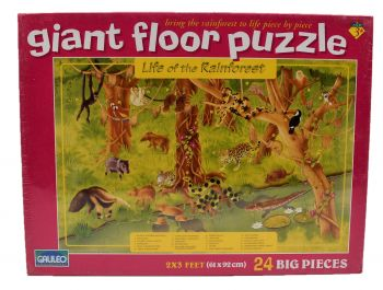 Giant Floor Puzzle - Life of the Rainforest