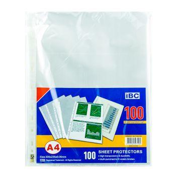 IBC A4 Sheet Protector (100 Pcs)