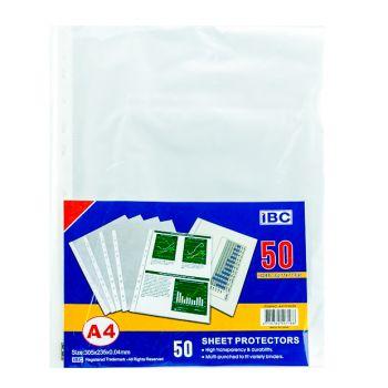 IBC A4 Sheet Protector (50 Pcs)