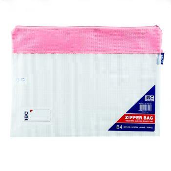IBC EVA Fabric Mesh Bag, Zipper, B4 (F687 B4)