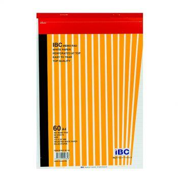 IBC Memo Pad, 60 Sheets, A4