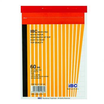 IBC Memo Pad, 60 Sheets, A6