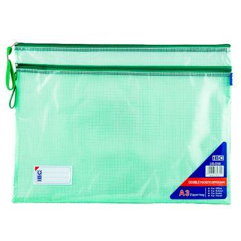 IBC Mesh Bag, Double Zipper, A3 (US-D58)