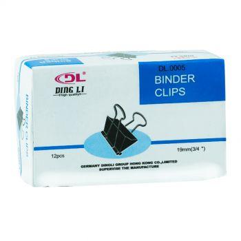 DL - Binder Clips 19mm (Taiwan)