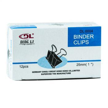 DL - Binder Clips 25mm