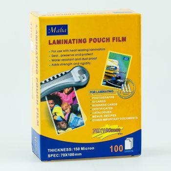 Maha - Laminating Pouch Film (70 X 100 mm)
