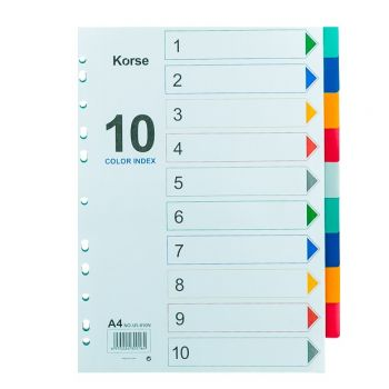 Korse - Plastic Divider without Numbers (1-10)